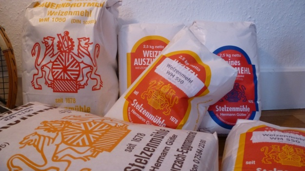 Monfort Mehle Karge Langenargen - Stelzenmühle bought 20 kg of flour