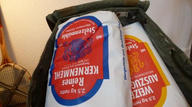 Monfort Mehle Karge Langenargen - Stelzenmühle salt and pepper swiss army backpack loaded
