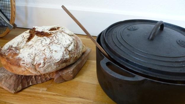 oxtail soup - ochsenschwanzsuppe - made in cast iron pot