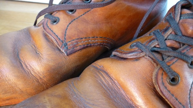 Red Wing 9013 shoes boots toe wrinkles