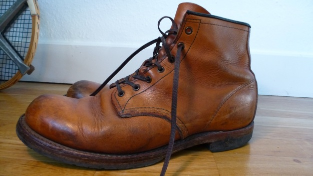 Red Wing 9013 shoes boots cognac charles beckman full view