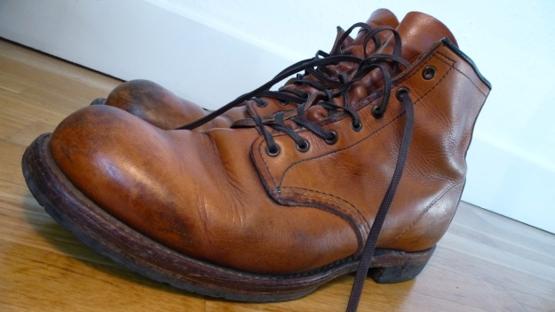 Red Wing 9013 shoes boots evolution of a beckman after a year