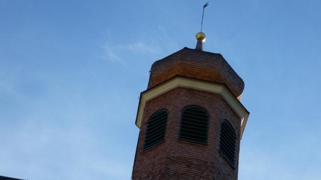 Rehmen Liegstein Austria Vorarlberg Trekking church tower