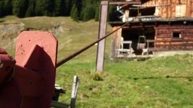 Rehmen Liegstein Austria Vorarlberg Trekking short lift