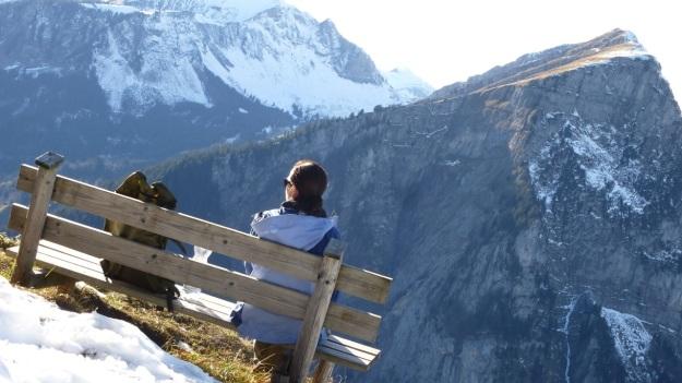 Rehmen Liegstein Austria Vorarlberg Trekking picknick