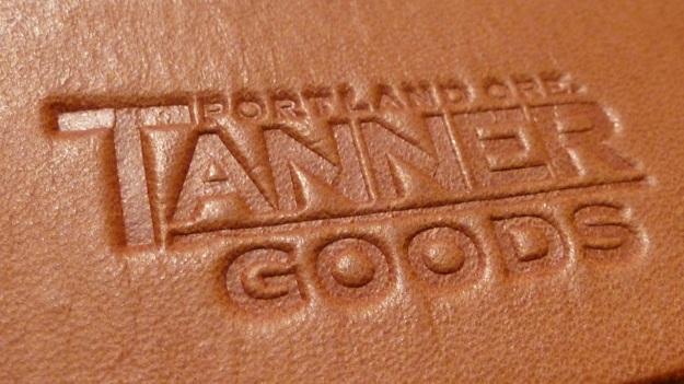 Tanner Goods Belt leather print