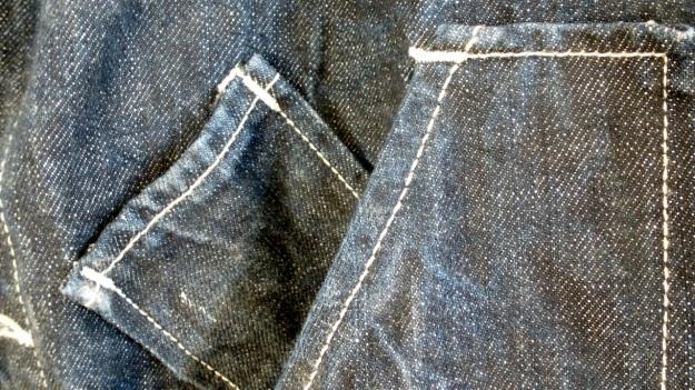Tellason Chore Coat - Coverall Jacket denim tool pockets