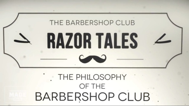 The Barber Shop Club - Woody Lavelle  The Razor Tales