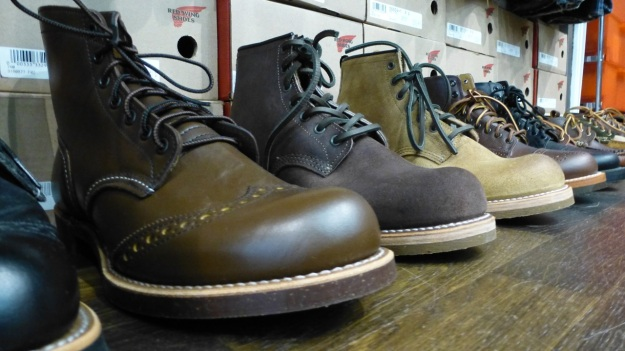 Volls Darmstadt Essence of Menswear Visit red wing shoes boot collection