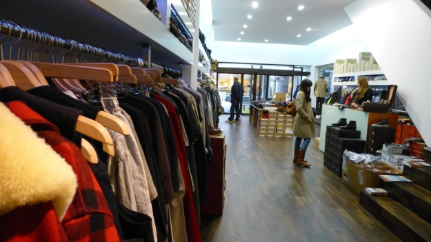 Volls Darmstadt Essence of Menswear Visit shop view inside