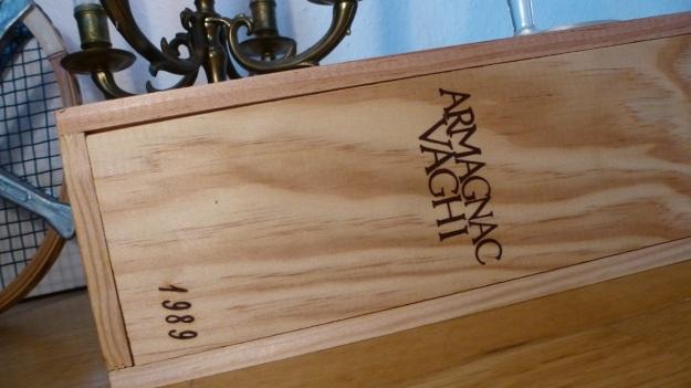 Armagnac Vaghi 1989 wooden case