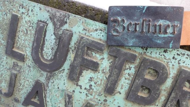 Berlin Gürtel - Berlin belt buckle