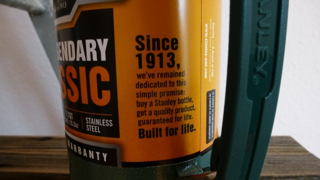 Stanley Thermos Classic green 100 years