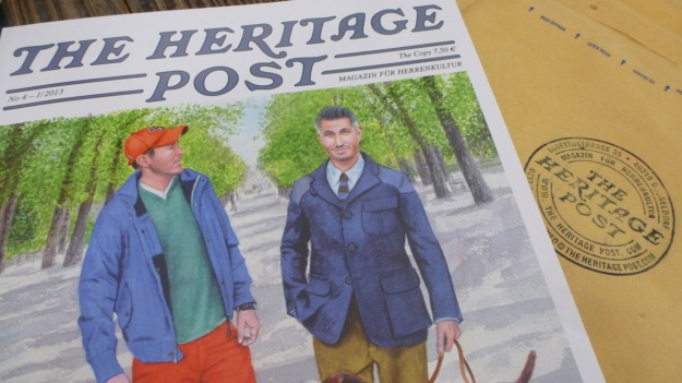 The Heritage Post No. 4 Magazine cover