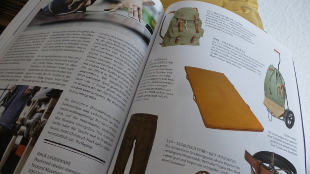 The Heritage Post No. 4 1:2013 Swiss army backpacks