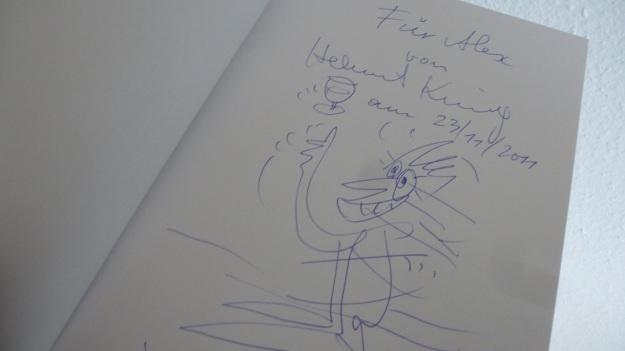 Visiting the King - Helmut King Artist