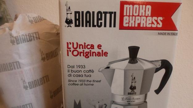 Pan roasted coffee and Bialetti espresso9