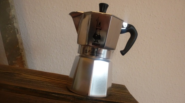 Pan roasted coffee and Bialetti espresso9