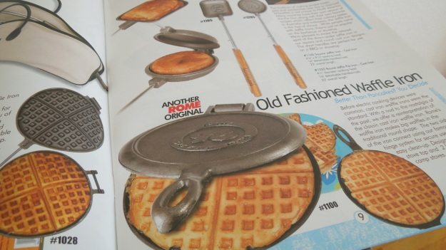 Chuckwagon Waffle Iron for Barbecue and Campfire1