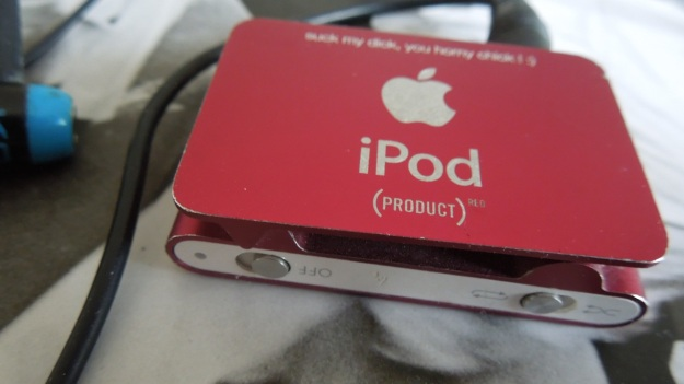 personalized ipod