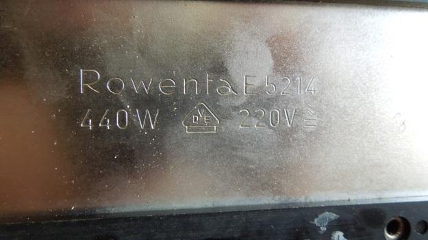 Rowenta art deco chrome toaster E 5214