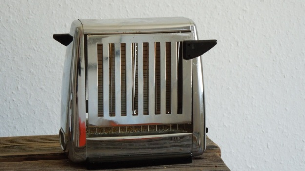 Rowenta art deco chrome toaster E 5214