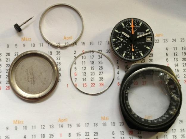 Heuer 510.501 Chronograph lemania