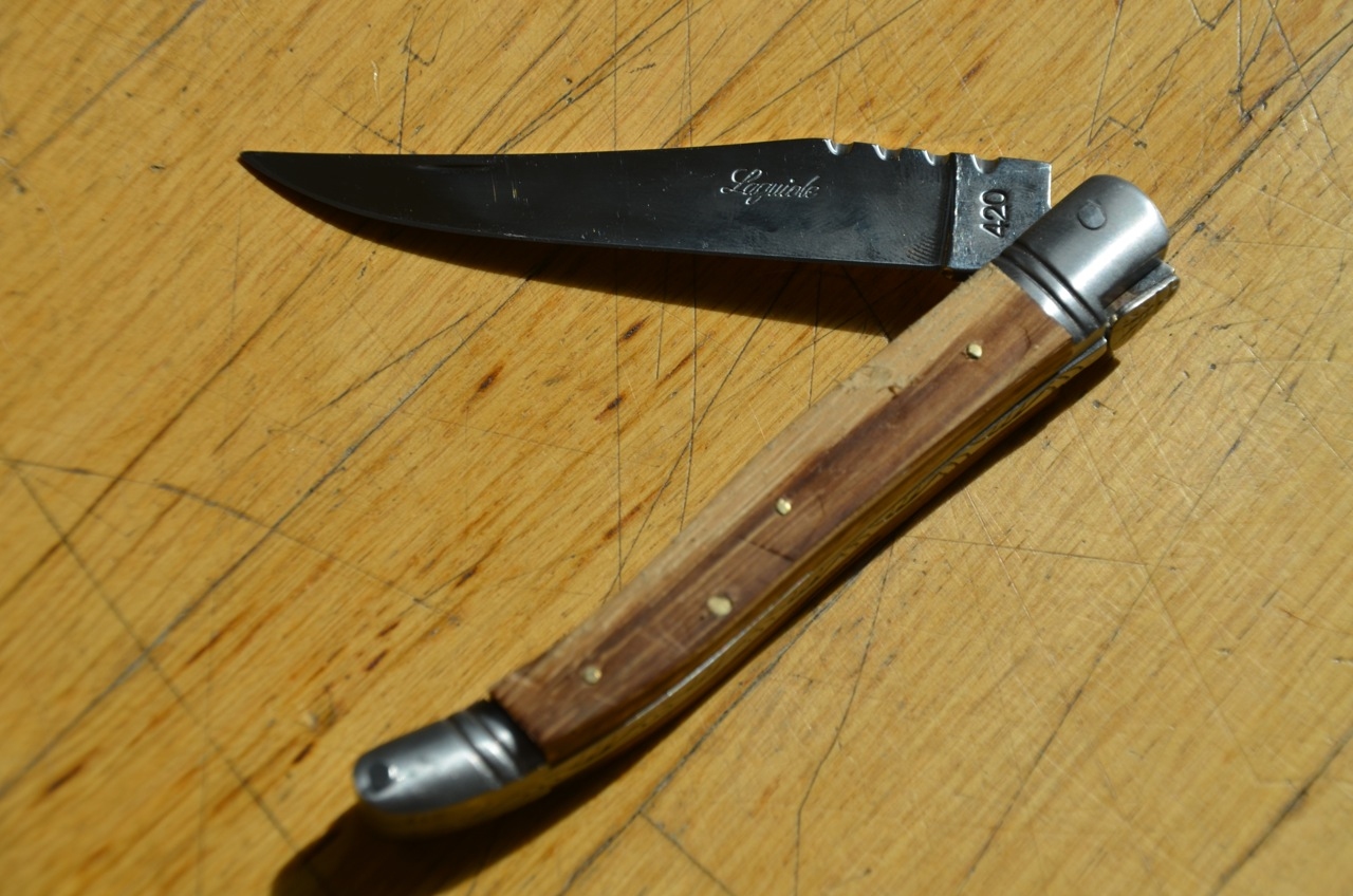 Self Made Laguiole Knife Be Cause Style Travel