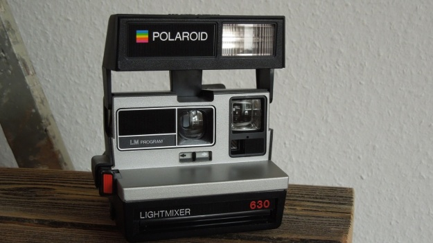 Polaroid Light Mixer 630 full camera view