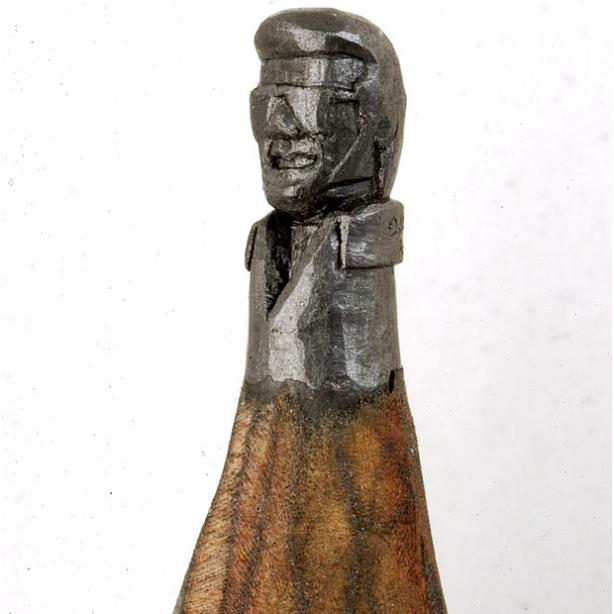 Dalton m ghetti pencil carving art be cause style
