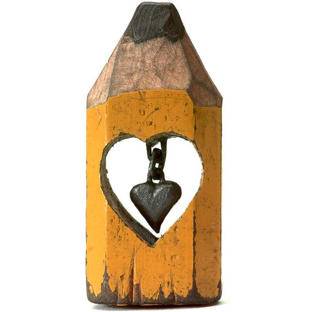 dalton ghetti pencil-art heart