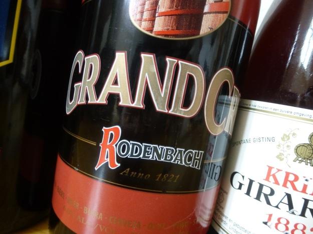 Rodenbach grand cru belgian beer