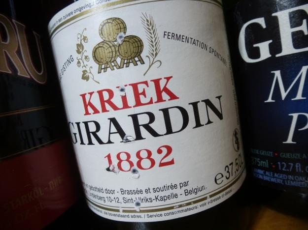 kriek girardin belgian beer