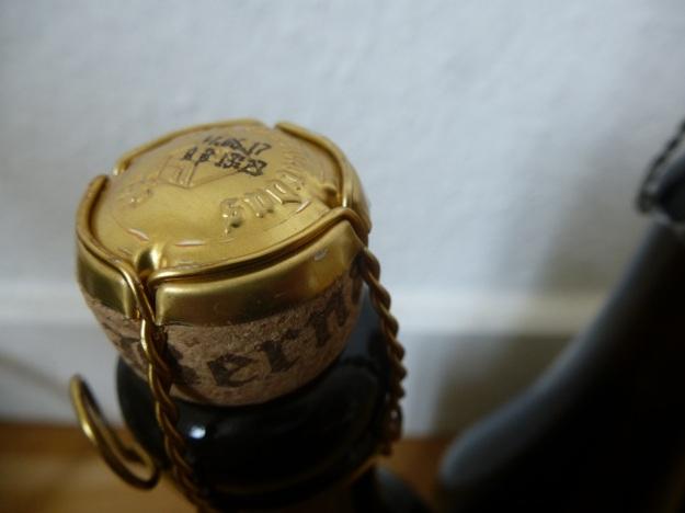 Champagne cork belgian beer