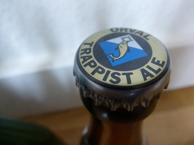orval trappist ale belgian beer tap