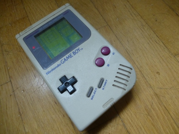 Nintendo Gameboy front view
