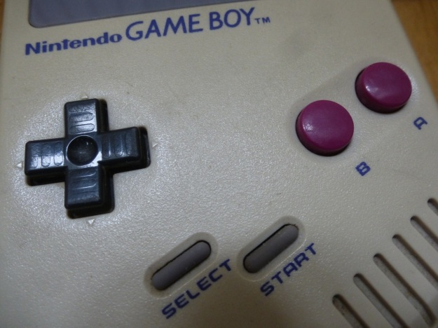 Nintendo Gameboy controls