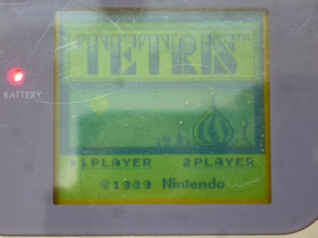 Nintendo Gameboy - Tetris how many players