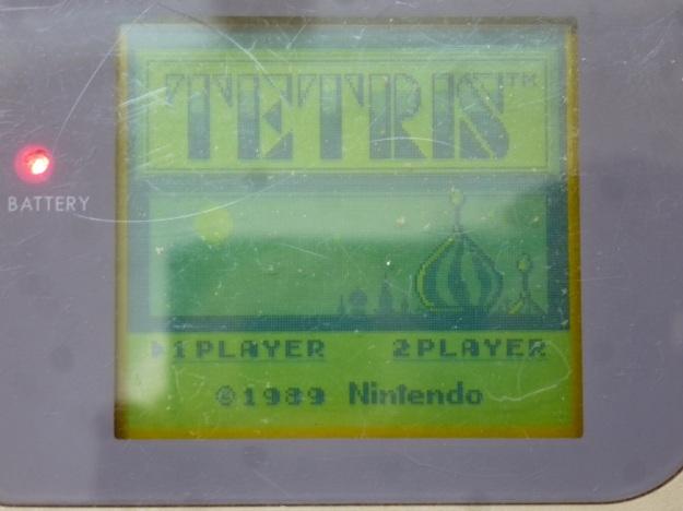Nintendo Gameboy - Tetris how many players