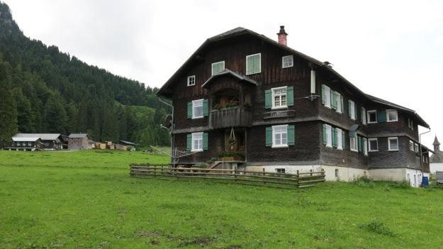 Hiking Sibratsgfäll Austria Alm Sennerei06