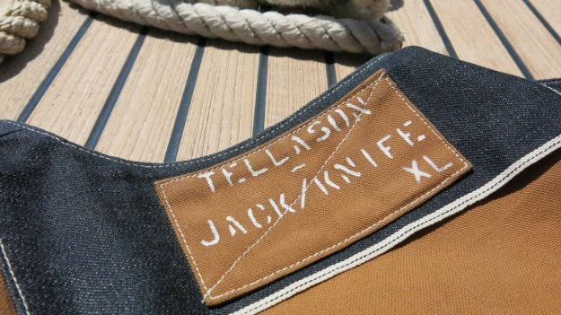 Jack Knife - Tellason Duck canvas vest 01