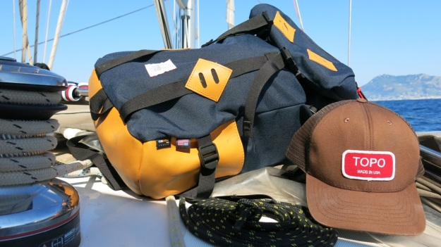 Topodesigns klettersack leather