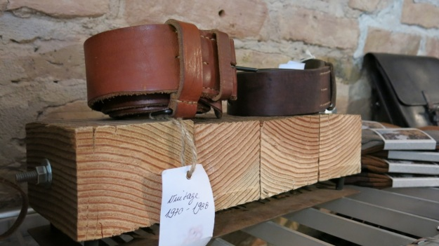 Peter Fields Berlin Shop visit - Feinschmuck vintage belts