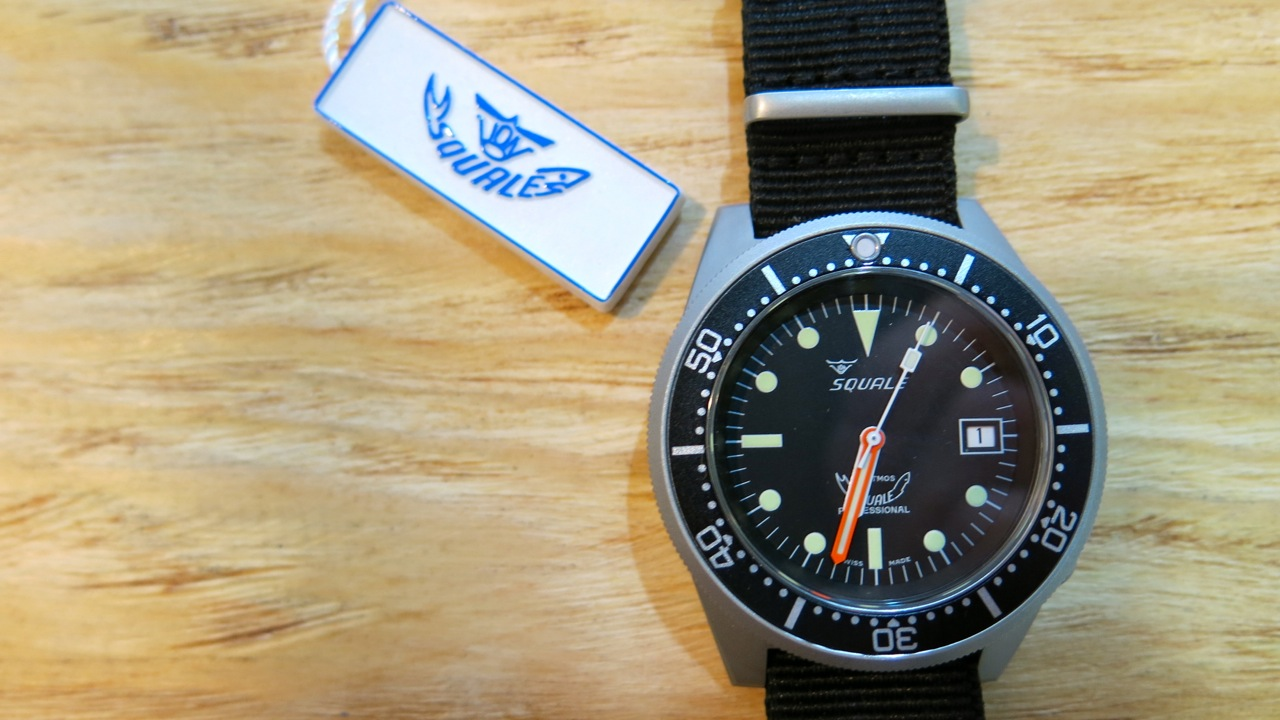 squale professional diving watches
