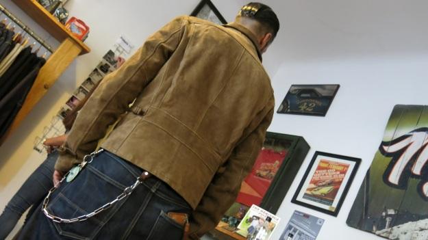 Thedileathers motorbike leather jacket