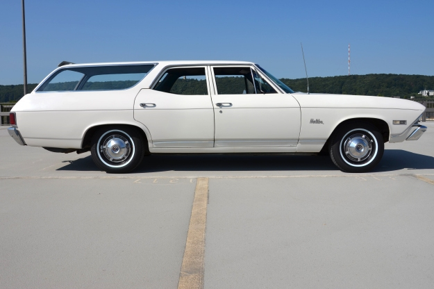 68er Chevelle Malibu Station Wagon side