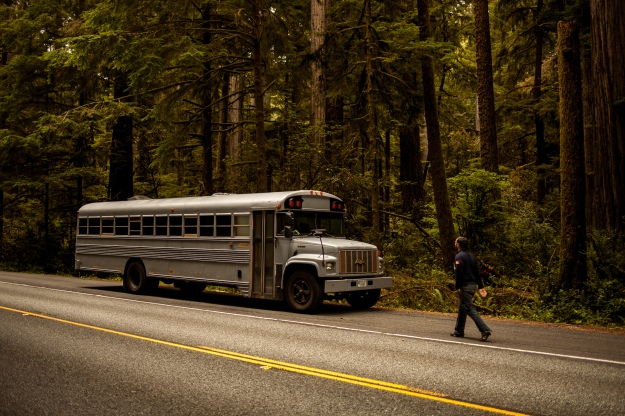 hank bought a bus in the wild