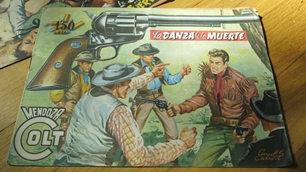 mendoza colt western comic1