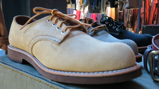 Red Wing 8057 oxford shoe light brown