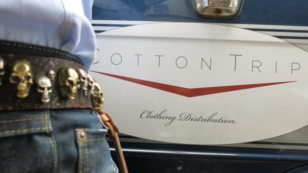 Skull belt from Cotton Trip